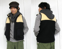 "general design made """"HOODED TWIST NECKWARMER"""