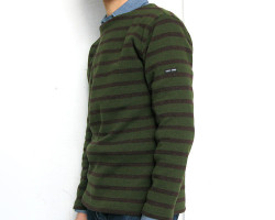 SAINT JAMES BORDER SWEATER
