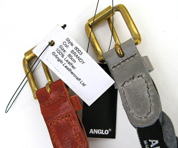 ANGLO LEATHERCRAFT(アングロ レザークラフト) ナローメッシュベルト