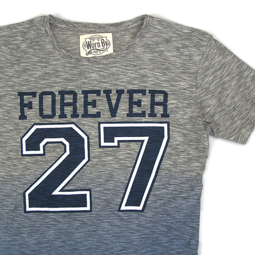 Worn By(ウォーン バイ)プリントTシャツ 「FOREVER 27」