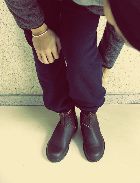"~ 5minutes Style ~ 「Blundstone ""Side gore Boots""」"