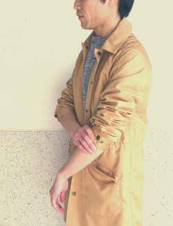 "~ 5minutes Style ~ 「FUJITO ""Long Coach Jacket""」"