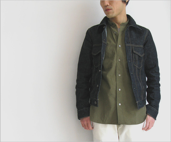 "~ 5minutes Style ~ 「FUJITO ""Band Collar Shirt""」"