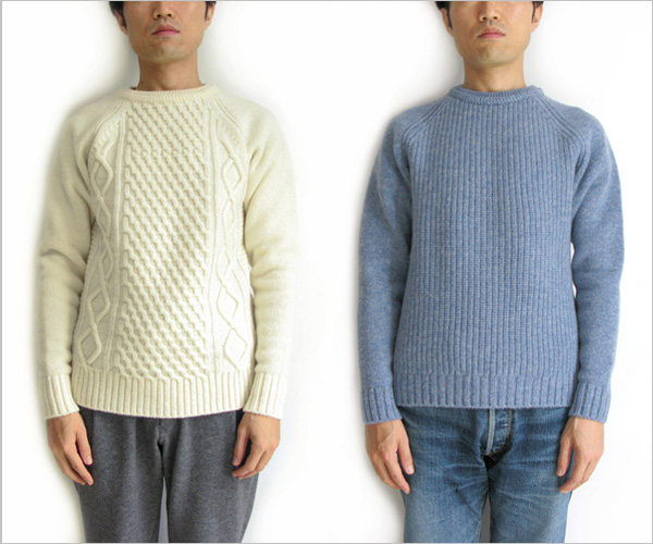 "FUJITO ""Cable Knit Sweater"""
