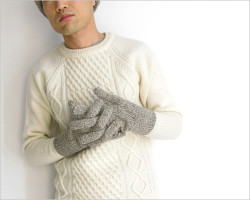 "~ 5minutes Style ~ 「FUJITO ""Cable Knit Sweater""」"