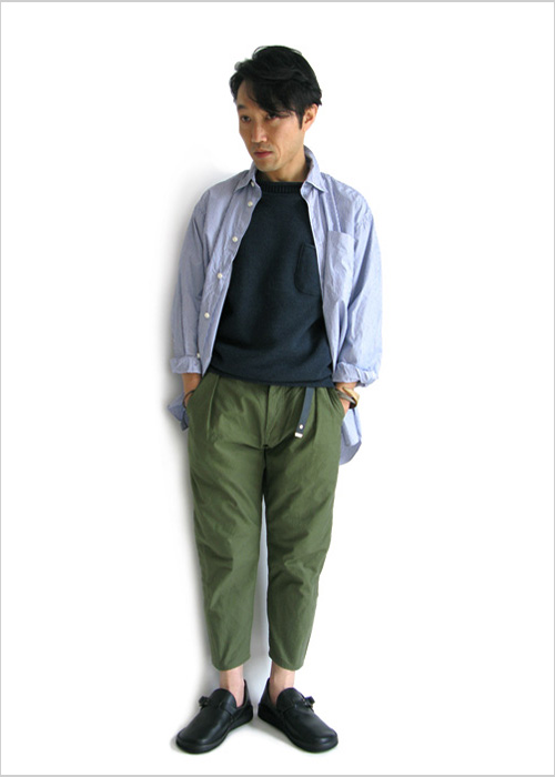 "~ 5minutes Style ~ 「FUJITO ""Big Silhouette Shirt""」)"
