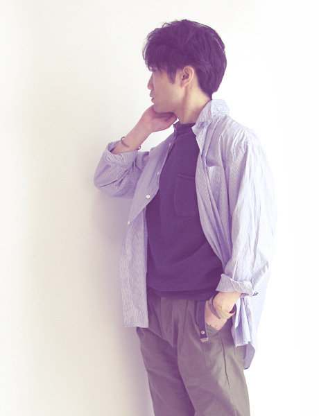 "~ 5minutes Style ~ 「FUJITO ""Big Silhouette Shirt""」"
