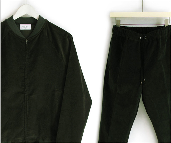 "FLISTFIA ""Flight Jacket & Casual Trousers"""