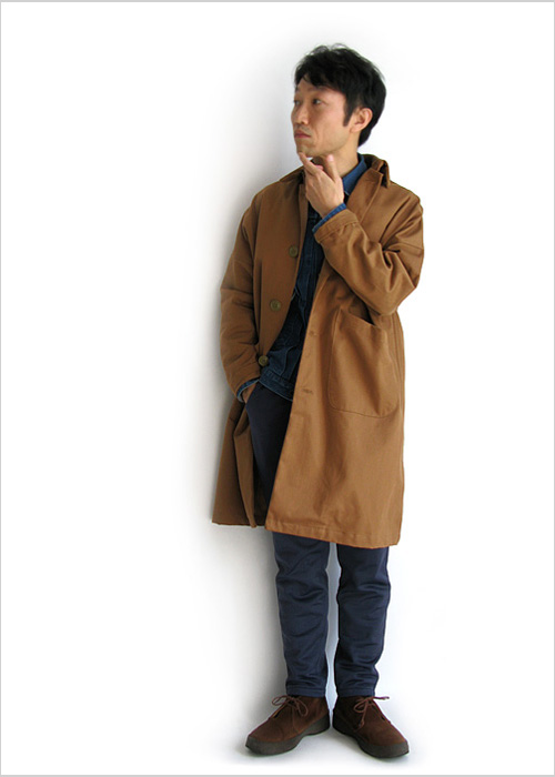 """~ 5minutes Style ~ 「Yarmo """"DUSTER COAT""""」"""