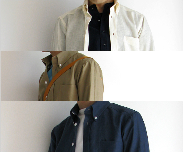 "~ 5minutes Style ~ 「James Mortimer ""Long Sleeve B.D.""」"