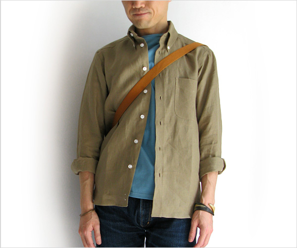"""~ 5minutes Style ~ 「James Mortimer """"Long Sleeve B.D.""""」"""