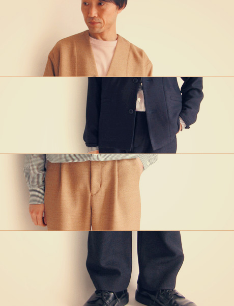 "~ 5minutes Style ~ 「EEL Products ""Yunagi Jacket & Yunagi Pants""」"