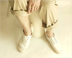 """Dead Stock(デッドストック)FRENCH ARMY キャンバススニーカー by """"AIGLE"""""""