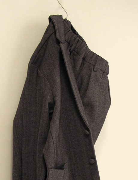 "~ 5minutes Style ~ 「FLISTFIA ""Jacket Cardigan & Wide Tuck Trousers""」"