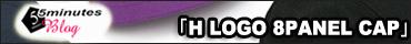 """HICOSAKA(ヒコサカ)""""H""""ロゴ 8パネルキャップ"""