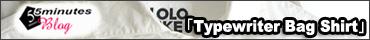 LOLO LIKE(ロロライク) タイプライターbagシャツ